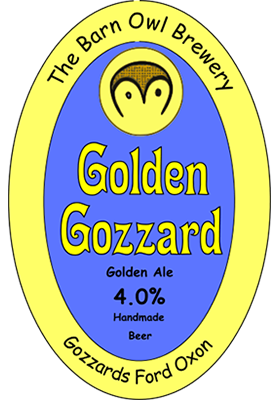 golden gozzard by barn owl brewery