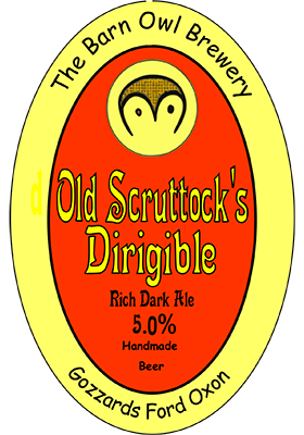 Old Scruttock's Dirigible by barn owl brewery